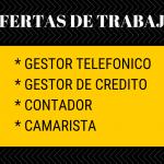 🔥Ofertas de trabajo en Chilpancingo y Acapulco, se solicitan gestor telefónico, camarista, gestor de crédito y contador🔥